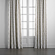 "FRESCO DRAPE IN TALBOT METAL - 50"" X 120"""