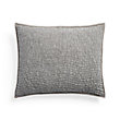 FRESCO STANDARD QUILTED SHAM IN MISTY GREY