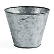 galvanized metal pots