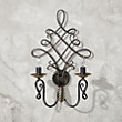 GRAND SCROLL Wall Sconce
