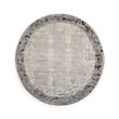 HAND KNOTTED ROUND RUG