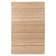 HAND WOVEN RUG IN TAUPE.,CADE
