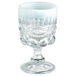 HAZEL OPAL WHITE GOBLETS (SET OF 4)