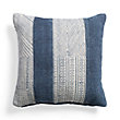 INDIGO LINEAR SQUARE PILLOW