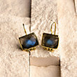 KAIA LABRADORITE EARRINGS