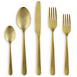 KENT 5 PIECE PLACE SETTING IN GOLD