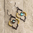 KERRYN LABRADORITE EARRINGS