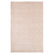 KNOTTED RUG IN CREAM`
