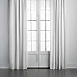 LINEN DRAPE IN OPTIC WHITE -