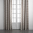 "LOREL DRAPE IN GREY - 50"" X 108"""
