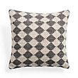 Mayan Check Square Pillow