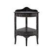 Merle Corner Table In Black