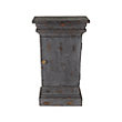 Merle Square End Table In Black