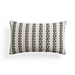 Onyx Striped Rectangular Pillow