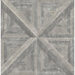 PERFECT PARQUET WALLPAPER IN TAUPE