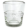 RIBBON CLEAR DOUBLE OLD-FASHIONED GLASSES (SET OF 4)
