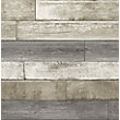 RUSTIC WOOD WALLPAPER IN GREY