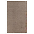 TAKUMI ,  FLATWEAVE RUG IN CHOCOLATE
