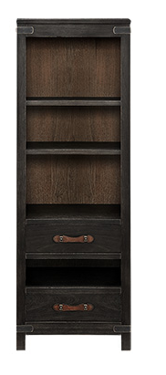 TREMONT LARGE BOOKCASE IN BLACK
