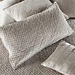 WILLOW KING PILLOW SHAM IN GREY