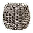 WYATT OUTDOOR ACCENT TABLE IN WEATHERED GREY