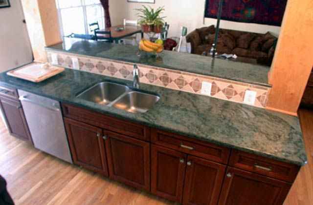 Genial Tropical Green Cut To Size Granite Slabs