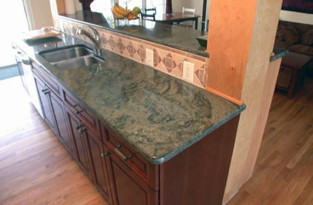 Buy Tropical Green Honed Finish Granite Slab From Preetham Granites