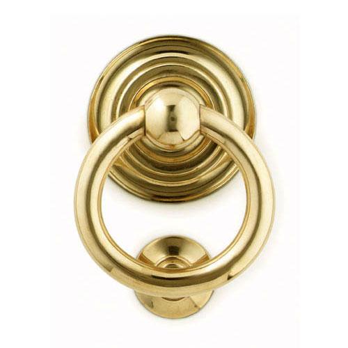 Brass Door Knocker, Brass Door Viewer (Knocker With Viewere)
