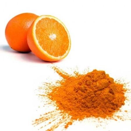 Using orange peel for the skin brightens face