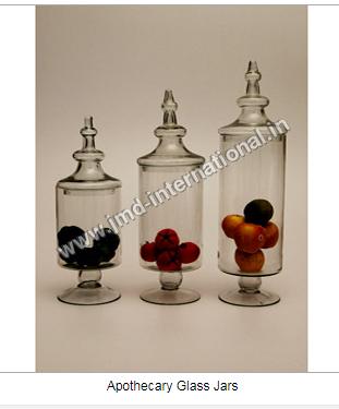 Apothecary Glass Jars