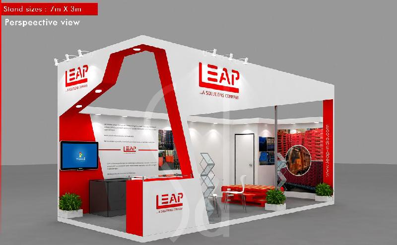 Exhibition Stall Size : Exhibition stalls manufacturer in delhi delhi india by sankalan