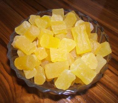 Dehydrated Pineapple Core Chunk (BADF037)