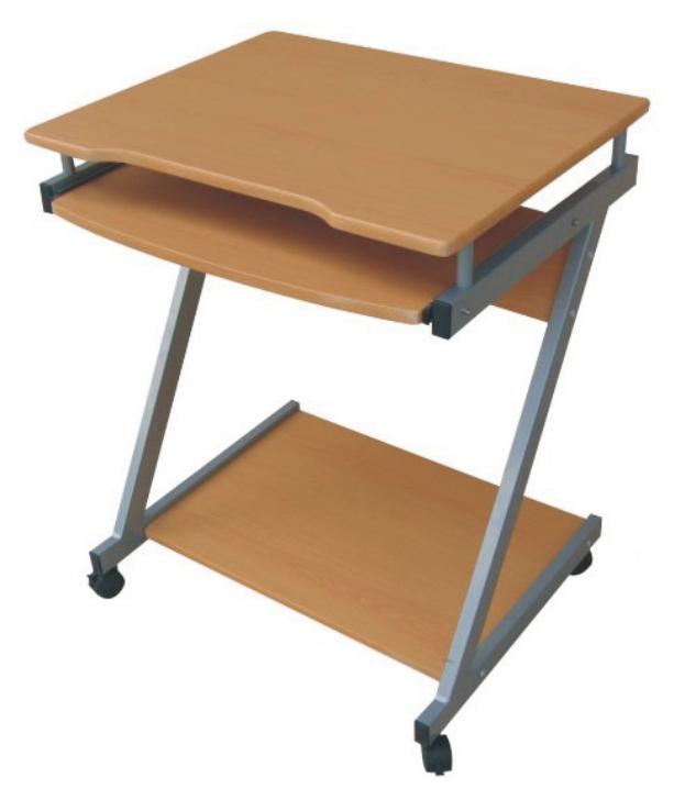 simple dx8110 steel wooden computer desk dx8110
