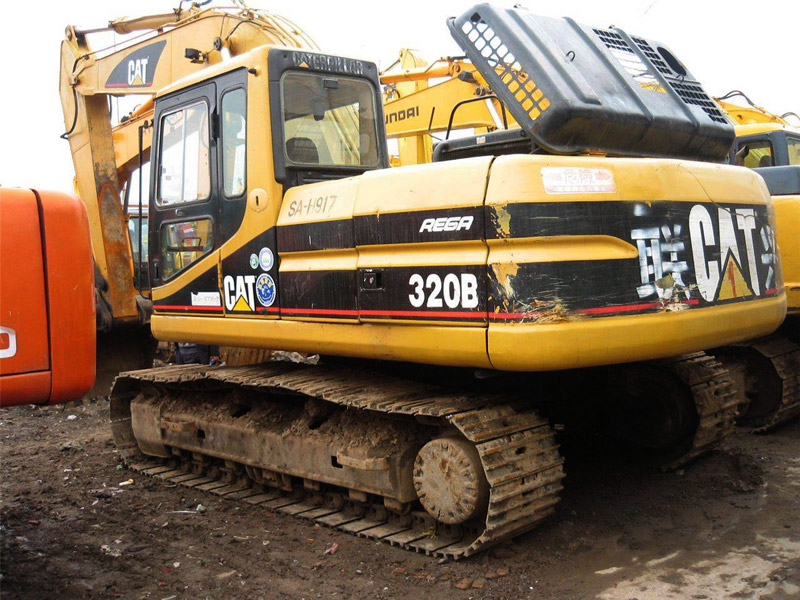 Buy Used Caterpillar Excavators from Infra Engineers India, India