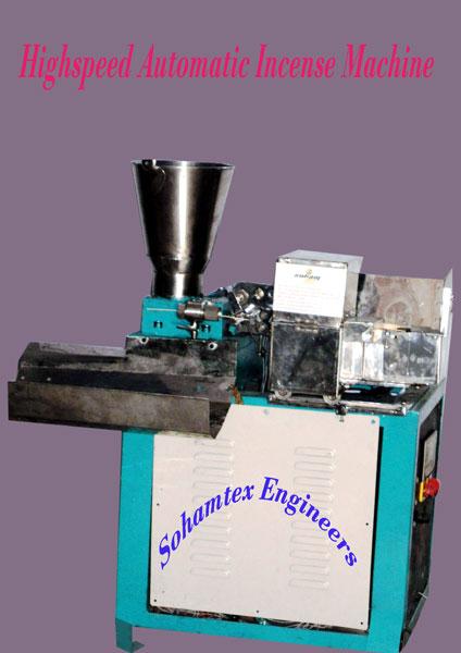 High Speed Automatic Agarbati(incense) Making Machine