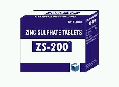Zinc Sulphate 200mg Tablets Wholesale Suppliers In Ahmedabad Gujarat
