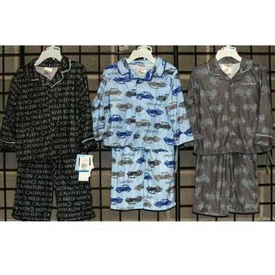 Boys Infant Coat Style Flannel Pajama (CKBPJ)