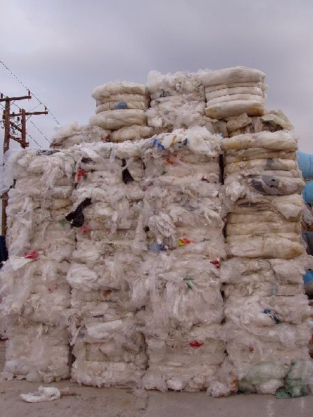 LDPE FILM aprox. 100% CLEAR - NATURAL - TRANSPARENT SCRAP BALES with AQSIQ and CCIC.