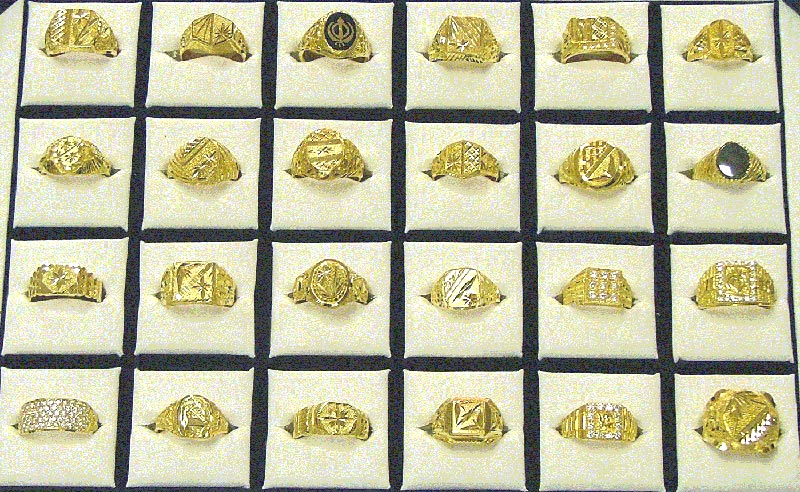 Mens Gold Rings Manufacturer in Rajkot Gujarat India by