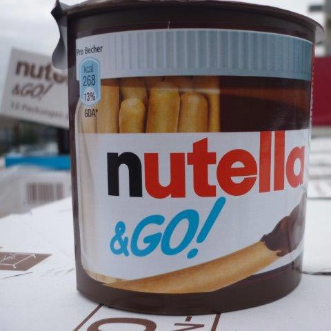Food Snacks (Nutella & Go - Ferrero)
