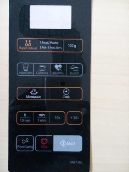 Buy Ab349 Microwave Oven Membrane Keypad From Able India