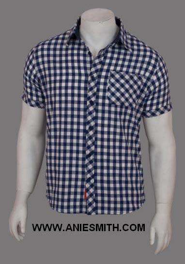 Buy mens half sleeves shirt from anie smith retail india for Jockey full sleeve t shirts india
