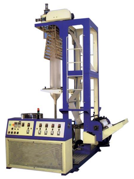 Blown film tubing machine 45mm manufacturer by sapna for T shirt manufacturing machine in india