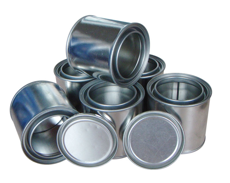 1 Gallon Oil Metal Square Paint Tin Cans With Screw Lids