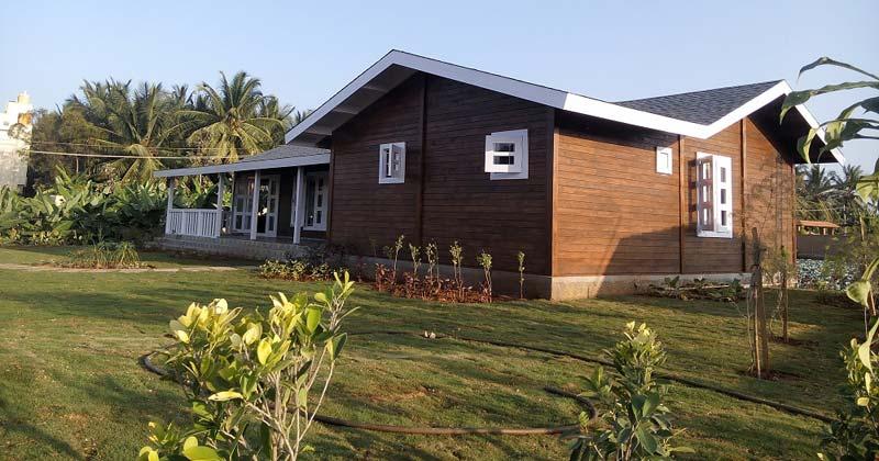 Prefabricated Wooden Houses Manufacturer In Bangalore Karnataka