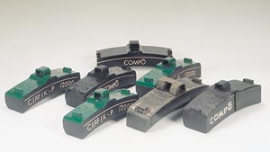 railway brake blocks