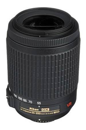Nikon 55-200 VR Lens
