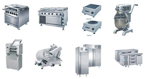 Equipment Of Restaurant Kitchen