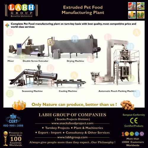 Pet Food Production Line Manufacturer in Rajkot Gujarat
