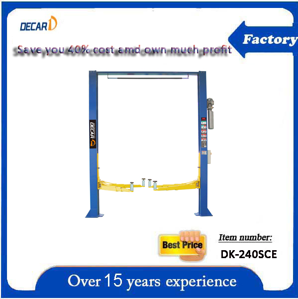 Buy New Used 2 Post Car Lift from Shanghai Deca Automobile
